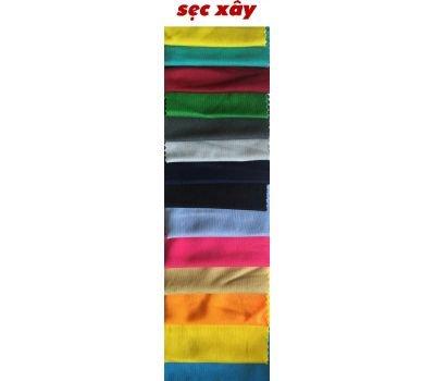 Bảng màu vải thun Sẹc Xây - Vải Thun Vân Sinh