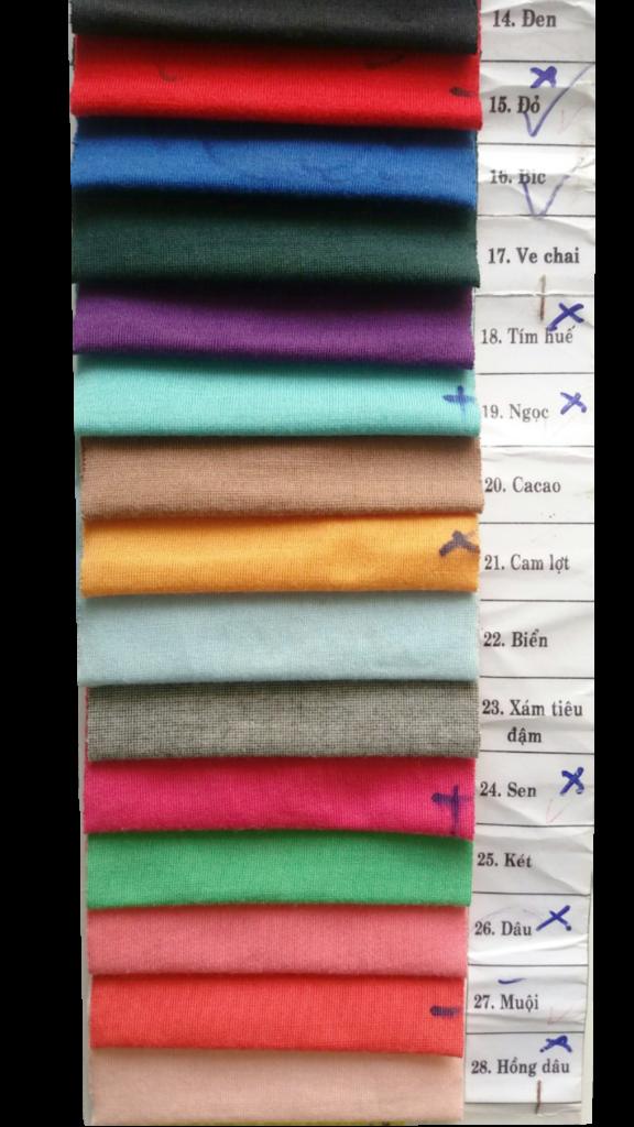 Vải thun Su pha giá sỉ và lẻ chất lượng cao - Vải Vân Sinh