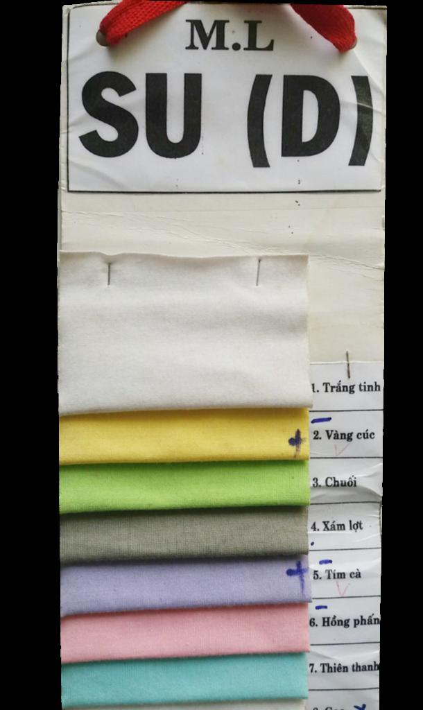Vải thun Su pha giá sỉ và lẻ - Vải Vân Sinh