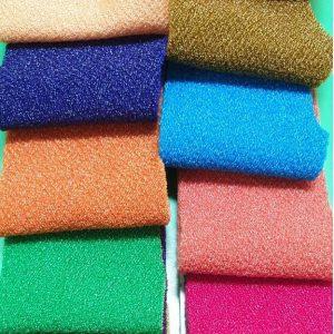 Bảng màu vải thun cát misa kim tuyến - Vải Vân Sinh
