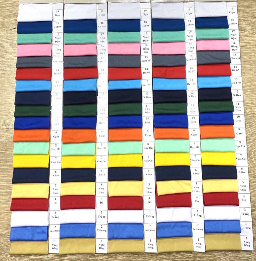 Vải thun lạnh 4 chiều - Mua thun lạnh 4 chiều giá rẻ, sỉ tại Vải Vân Sinh chất lượng Tân Bình 2