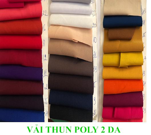 Vải thun 2 da poly là gì – Vải Vân Sinh
