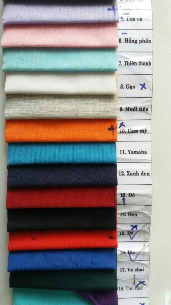 Vải thun su pha sỉ và lẻ chất lượng cao - Vải Vân Sinh