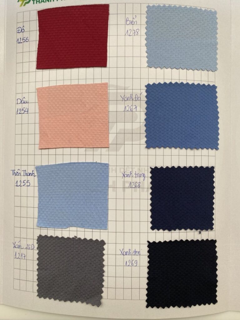 Màu vải thum kim cương - Vải Vân Sinh
