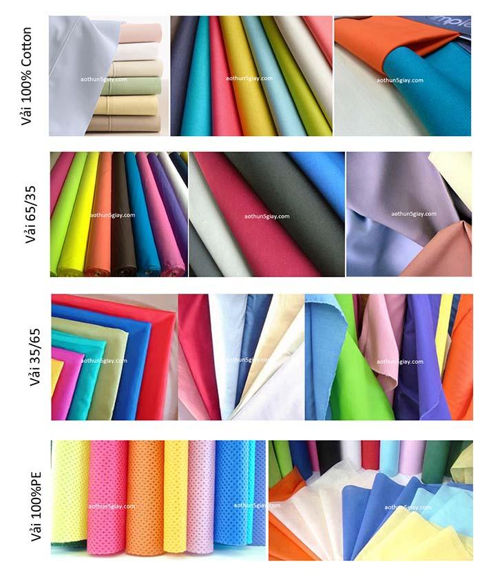 Đặc điểm của các loại vải thông dụng trên thị trường