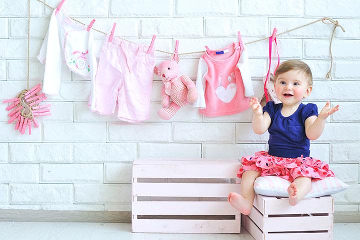Vải sợi pha được sử dụng để may quần áo trẻ em